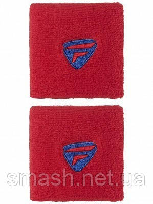 Напульсники Tecnifibre 2-Pack Wristbands Red/Blue