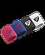 Напульсники Tecnifibre 2-Pack Wristbands Red/Blue, фото 2
