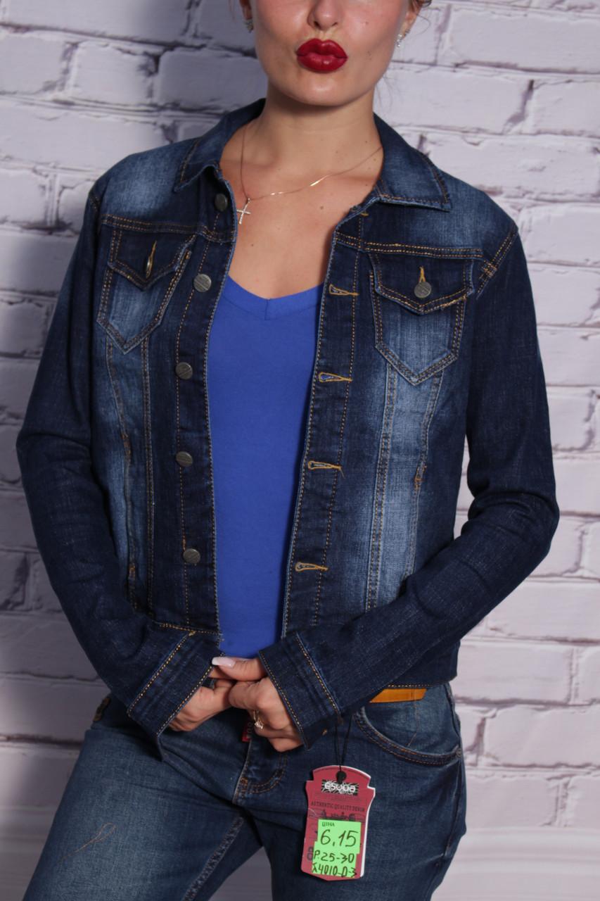 Стильный женский джинсовый пиджак Relucky (код 210)