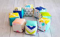 Набор текстильных кубиков
