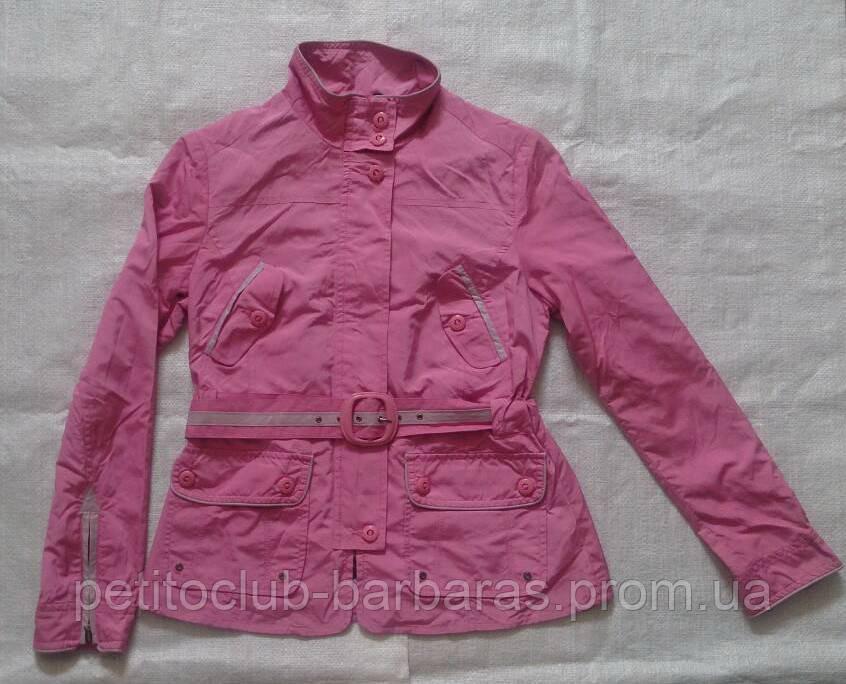 Женская курточка-ветровка розовая размер 38 (ICON, Турция)