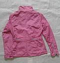 Женская курточка-ветровка розовая размер 38 (ICON, Турция), фото 5