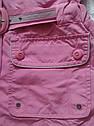 Женская курточка-ветровка розовая размер 38 (ICON, Турция), фото 8