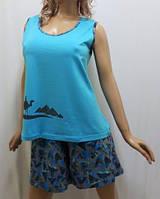 Костюм женский с шортами большого размера, от 54 до 62, Харьков