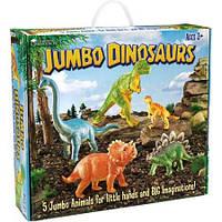 Набор фигурок Гигантские Динозавры 5 шт Learning Resources Jumbo Dinosaurs