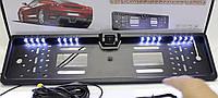 Камера заднего вида в авто рамке номера с 4 + 16 LED Подсветкой Акция !!!
