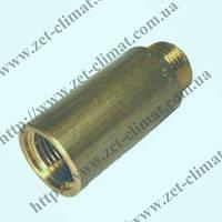 Удлинитель латунный Ду 15 ВН L 40мм.