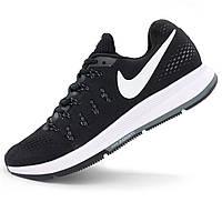 Мужские кроссовки для бега Nike Zoom Pegasus 33 черно-белые