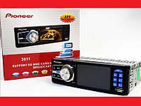 "Автомагнитола Pioneer 3612 ISO- 3,6"" TFT Video экран Divx/mp4/mp3 - USB флешка+ SD карта. Код: КДН2176"