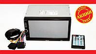 """Практичная 2din Pioneer 7018G GPS магнитола 7"""" Экран + AV-in + пульт. Отличное качество. Купить. Код: КДН2177"""