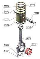 Шатунно-поршневая группа ЦВД на компрессор ПКС-5,25