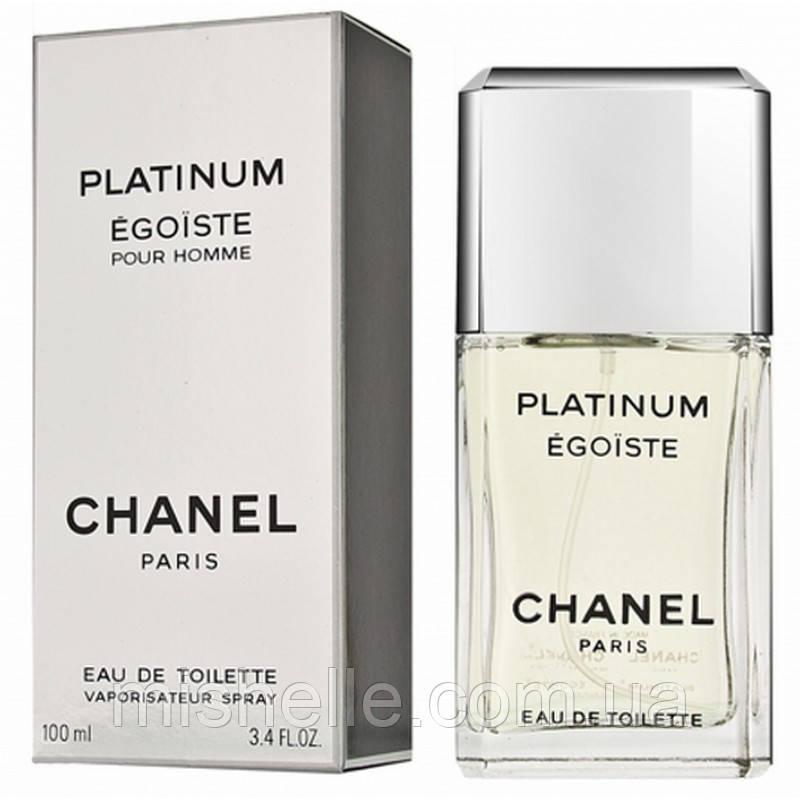 Туалетная вода для мужчин Chanel  Egoiste Platinum (Шанель Эгоист Платинум) реплика