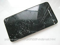 УЦЕНКА: Lenovo S660 рамка, дисплейный модуль (дисплей, сенсор) разбитый, на запчасти