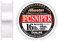 Флюорокарбон Sunline Shooter FC Sniper 100m 0.350mm 8kg