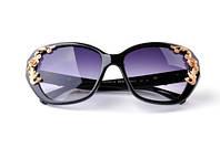 Модные женские солнцезащитные Очки Dolce Gabbana Flowers с цветами сонцезахисні окуляри на 8 марта