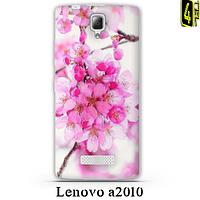 Чехол для Lenovo a2010, 3D бампер, FR01, цветущая вишня