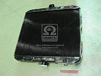 Радиатор водяного  охлаждения  ГАЗ 33104-1301010-30  ВАЛДАЙ 2-х рядный г.Оренбург