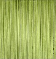 Нити декоративные однотонные - оливковый