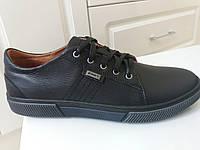 Мужские  кожаные  туфли мокасины польские