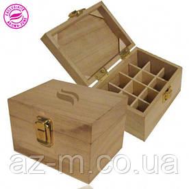 Деревянный ящик для хранения MINI (12 флаконов)