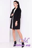 Женское черное кашемировое пальто (р. S, M, L) арт. Бруно 13680