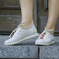 Туфли кожаные tr839grey