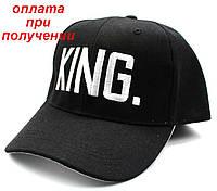 Мужская новая, стильная, спортивная, кепка, бейсболка KING, фото 1