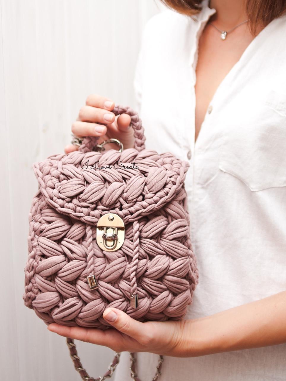 84d2b3f1f657 Видео мастер-класс «Рюкзак Зефирка». женские сумочки и клатчи от ...