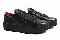 Туфли женские Carlo Pachini натуральная кожа, цвет черный (платформа, комфорт, Польша)
