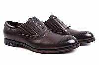 Туфли мужские Cosottinni натуральная кожа, цвет коричневый (мокасины, каблук, комфорт)