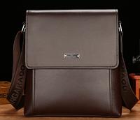 Мужская кожаная сумка. Модель 61326x, фото 4
