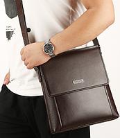 Мужская кожаная сумка. Модель 61326x, фото 7