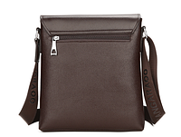 Мужская кожаная сумка. Модель 61326x, фото 6