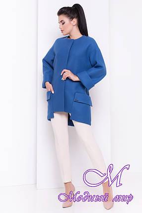 Женское модное осеннее пальто (р. S, M, L) арт. Кадис 16845, фото 2