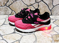 Мигающие кроссовки для девочек, фото 1