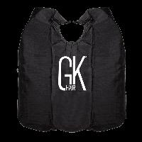 GKhair Пеньюар Embroidered Cape черный