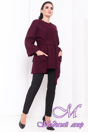 Модное женское демисезонное пальто (р. S, M, L) арт. Кадис 16882, фото 2