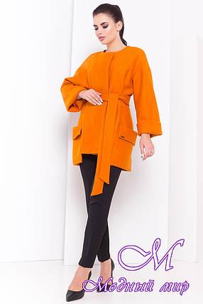 Женское модное демисезонное пальто (р. S, M, L) арт. Кадис 16883, фото 2