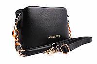 Стильная сумка Michael Kors эко-кожа, цвет черный, прямоугольная, маленькая