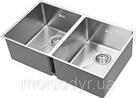 Мойка кухонная AquaSanita Enna 200M из нержавеющей стали , фото 1
