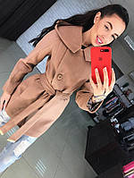 Укороченное кашемировое пальто с капюшоном . Пальто. Одежда. Интернет-магазин. Недорого.