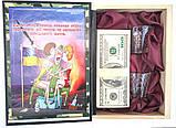 "Книга шкатулка деревянная ""Статут збройних сил"", фото 2"