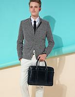 Чоловіча шкіряна сумка. Модель 61328, фото 7