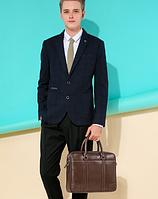Мужская кожаная сумка. Модель 61328, фото 8