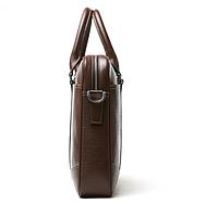 Мужская кожаная сумка. Модель 61328, фото 6