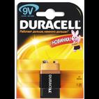 Батарейка крона DURACELL 9V / MN1604 (СРОК ГОДНОСТИ до 2017г)