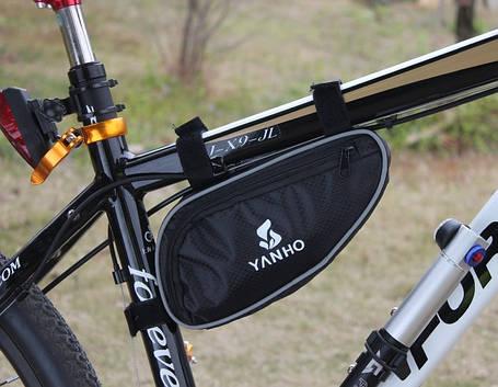 Велосипедная сумка на раму Yanho, фото 2