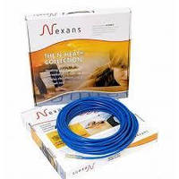 Кабель нагревательный двужильный 3,5-4,4 м.кв (600Вт) Nexans TXLP/2R 17Вт/м (теплый пол)