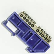 Шина нульова на ізоляторі на Din-рейку CD 6х9/10