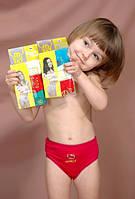 Детское нижнее белье трусы для девочек